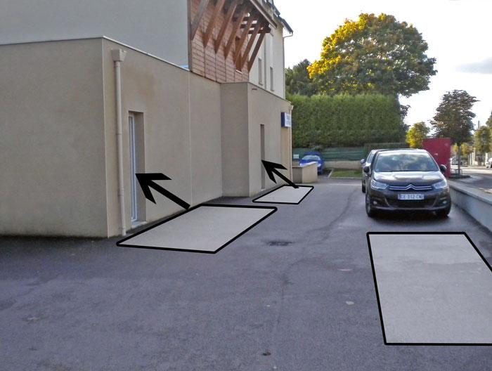 Parking arche de venoix