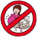 femme enceinte - vermifuge chat
